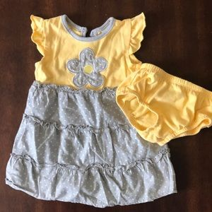 Other - Baby girl sundress with diaper cover. 6-9 months